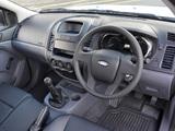 Images of Ford Ranger Single Cab ZA-spec 2012