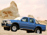 Photos of Ford Ranger Double Cab ZA-spec 2003–07