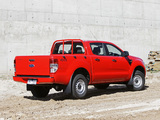 Photos of Ford Ranger Double Cab XL AU-spec 2011