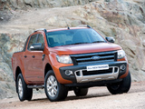 Photos of Ford Ranger Wildtrak ZA-spec 2011