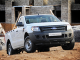 Photos of Ford Ranger Single Cab ZA-spec 2012