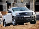 Photos of Ford Ranger Single Cab ZA-spec 2012