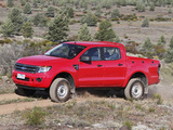 Pictures of Ford Ranger Double Cab XL AU-spec 2011