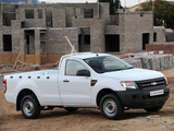 Pictures of Ford Ranger Single Cab ZA-spec 2012