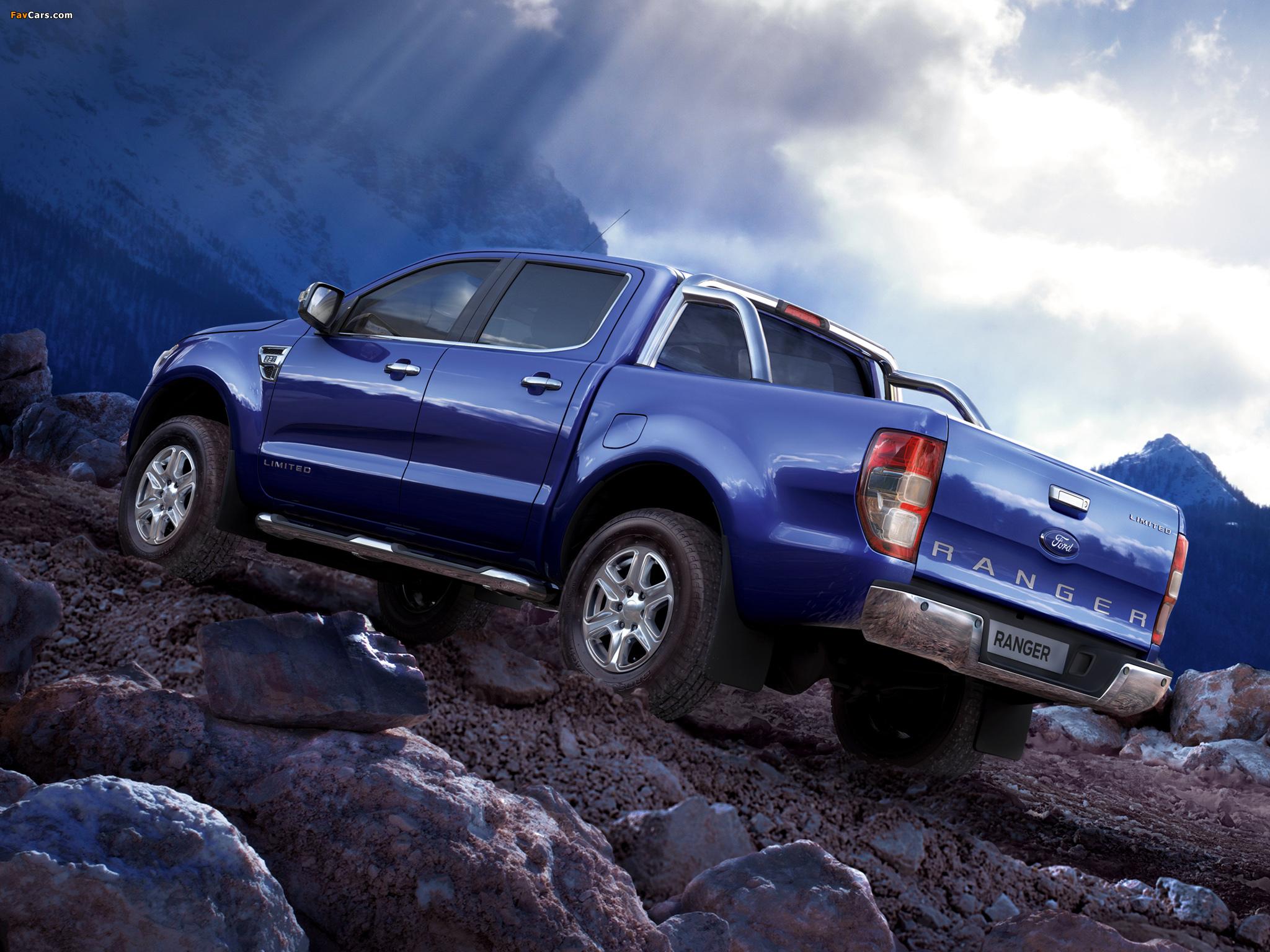 синий автомобиль джип ford new ranger загрузить