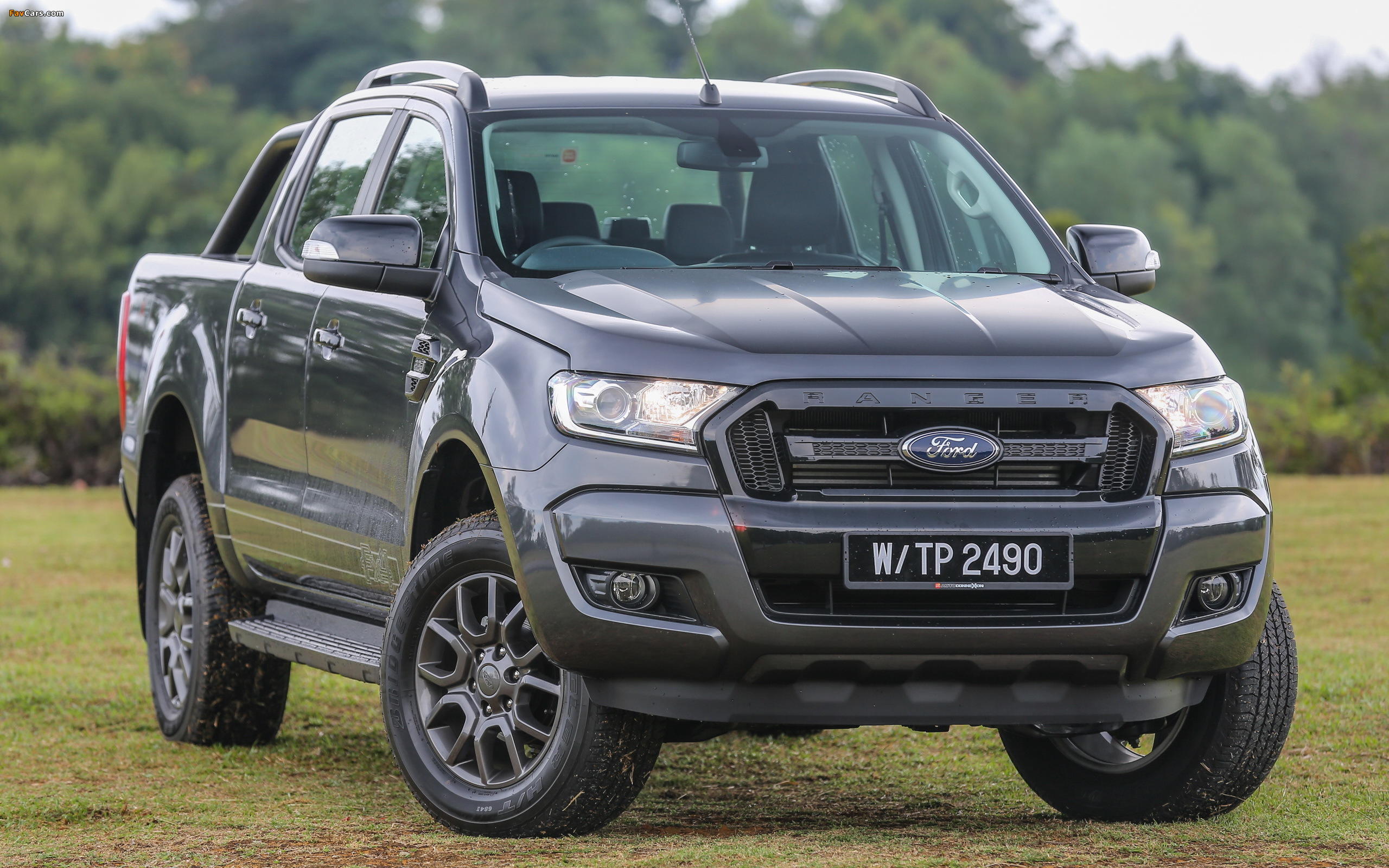 Ford Ranger Double Cab FX4 MY-spec 2017 wallpapers (2560 x 1600)