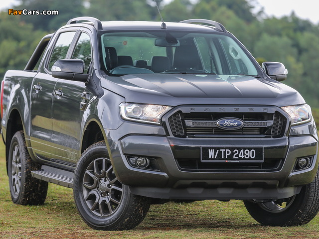 Ford Ranger Double Cab FX4 MY-spec 2017 wallpapers (640 x 480)