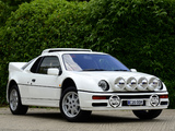 Ford RS200 1984–86 images