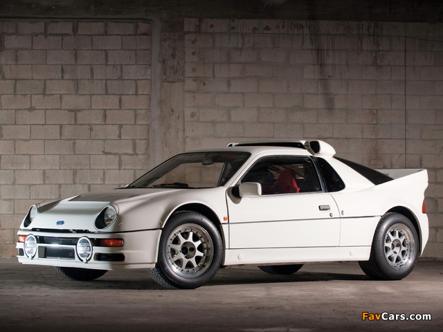 Ford RS200 1984–86 wallpapers (640 x 480)