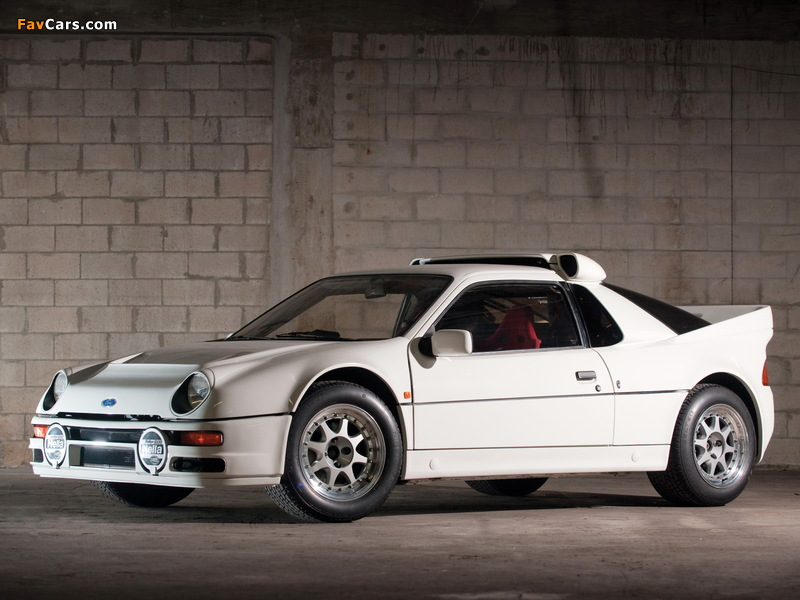 Ford RS200 1984–86 wallpapers (800 x 600)