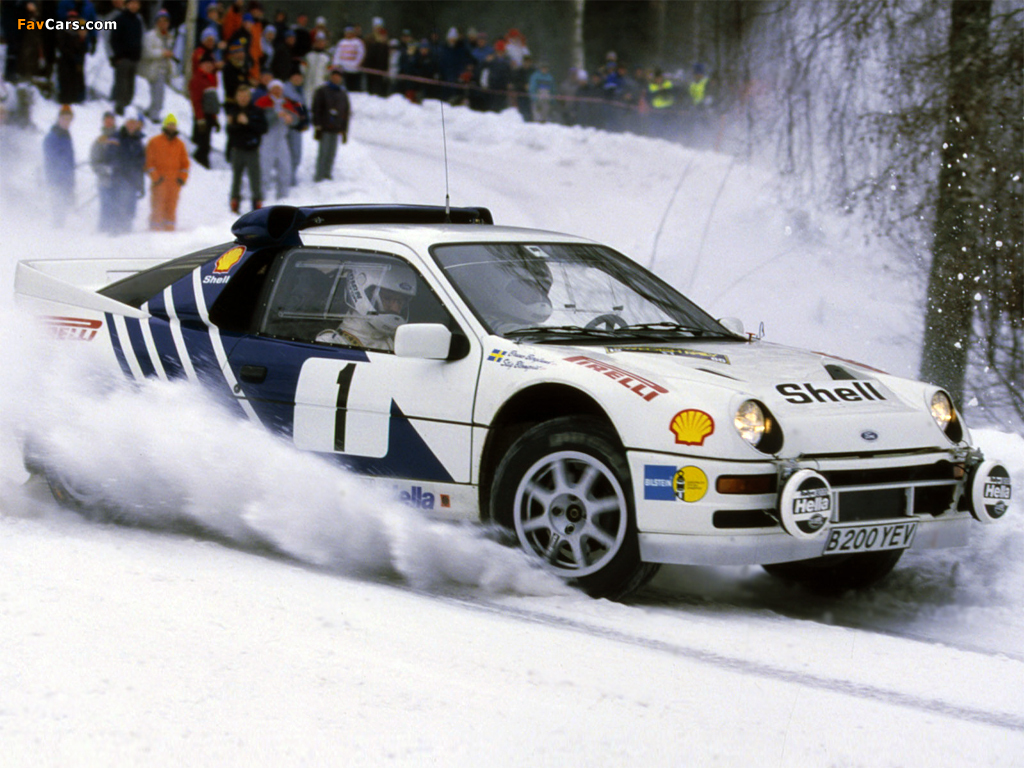 Photos of Ford RS200 Group B Rally Car (1024 x 768)