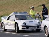 Photos of Ford RS200 Police 1984–86