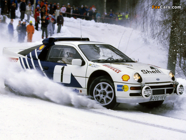 Photos of Ford RS200 Group B Rally Car (640 x 480)