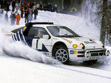 Photos of Ford RS200 Group B Rally Car