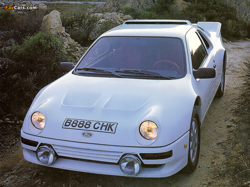 Pictures of Ford RS200 1984–86 (800 x 600)