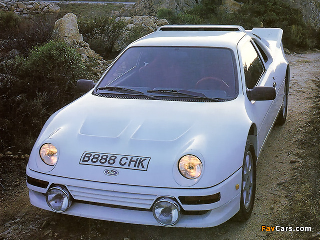 Pictures of Ford RS200 1984–86 (640 x 480)