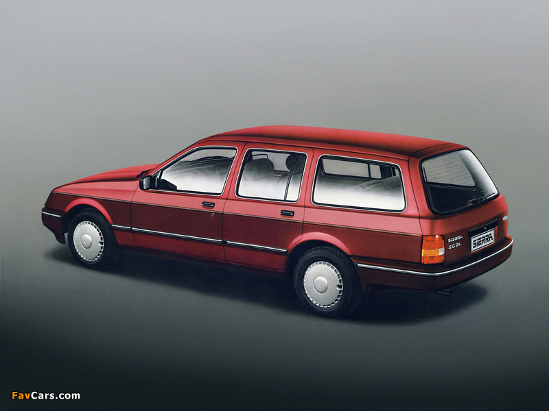 Ford Sierra Turnier 1982–87 wallpapers (800 x 600)