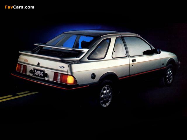 Ford Sierra XR4 3-door Hatchback AR-spec 1984–88 photos (640 x 480)