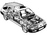 Ford Sierra XR4x4 Turnier 1986–87 photos