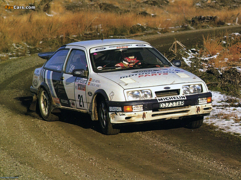 Ford Sierra RS Cosworth Group A Rally Car 1987–89 images (800 x 600)