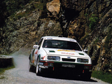 Ford Sierra RS Cosworth Group A Rally Car 1987–89 wallpapers