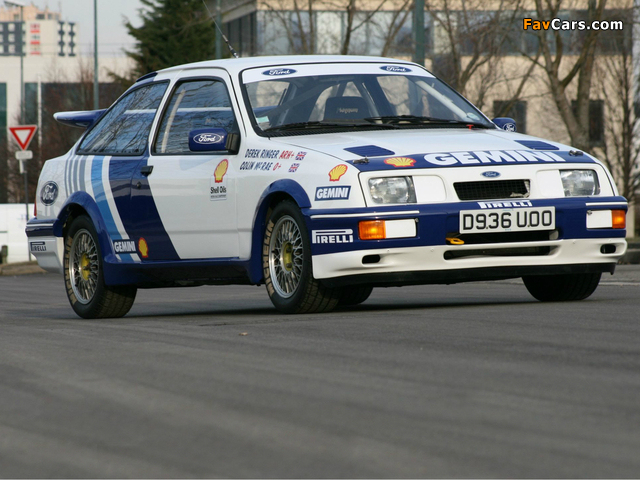 Ford Sierra RS500 Cosworth BTCC 1988–92 pictures (640 x 480)