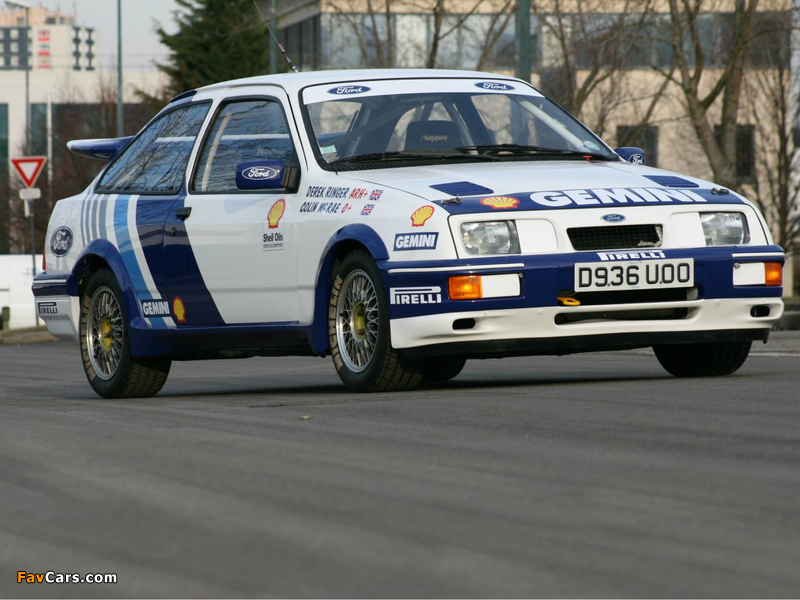 Ford Sierra RS500 Cosworth BTCC 1988–92 pictures (800 x 600)