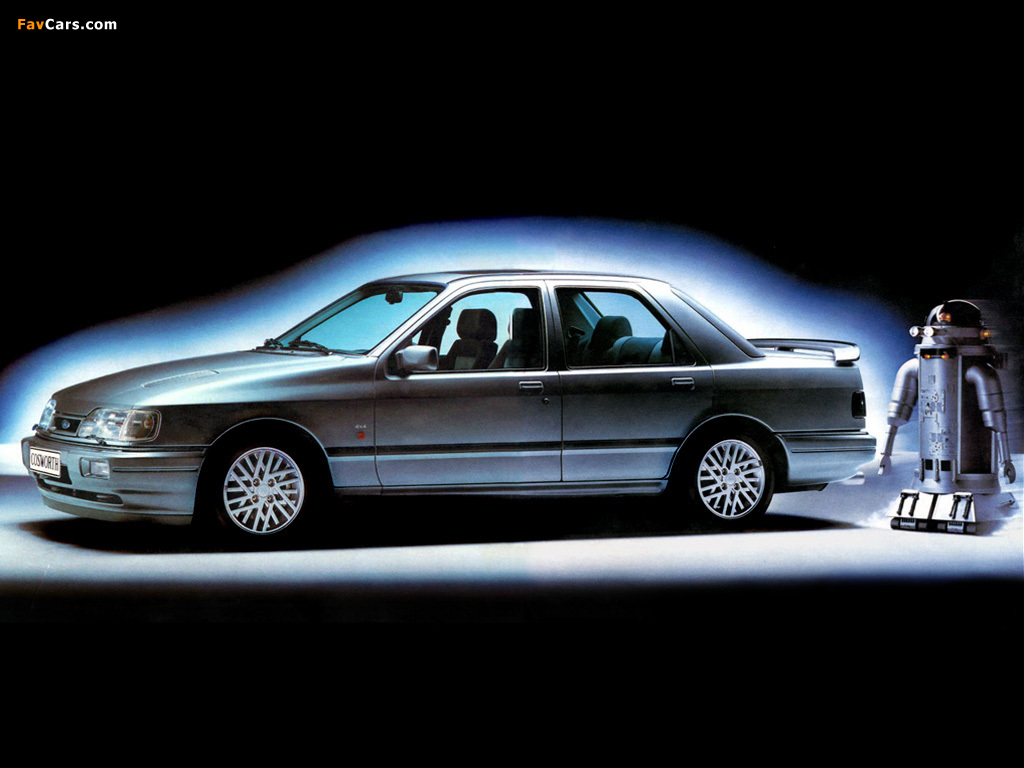 Ford Sierra Cosworth 4x4 1990–93 wallpapers (1024 x 768)