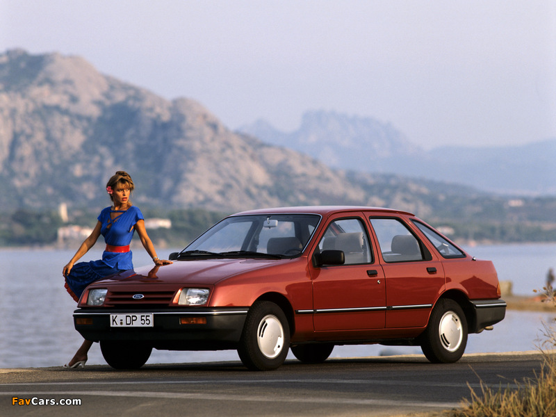 Images of Ford Sierra 5-door Hatchback 1982–87 (800 x 600)