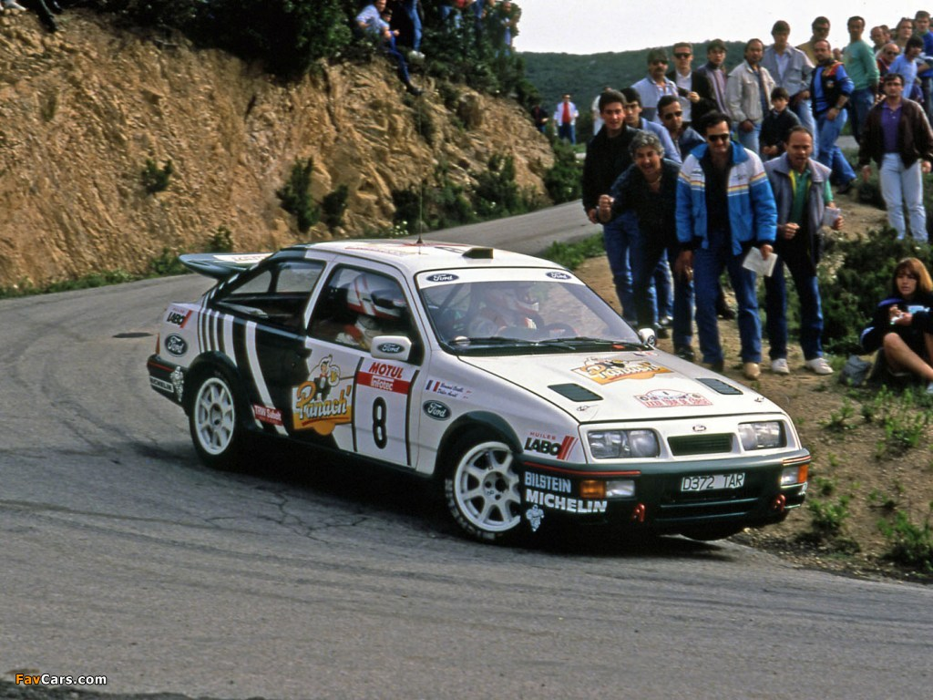Images of Ford Sierra RS Cosworth Group A Rally Car 1987–89 (1024 x 768)