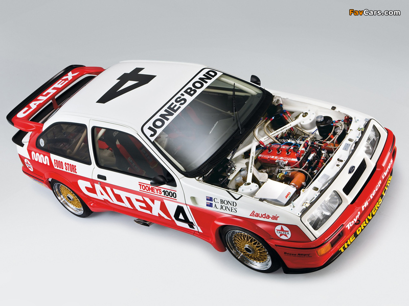 Images of Ford Sierra RS Cosworth Group A Rally Car 1987–89 (800 x 600)