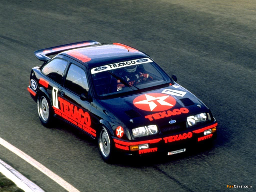 Photos of Ford Sierra RS500 Cosworth WTCC 1987–88 (1024 x 768)