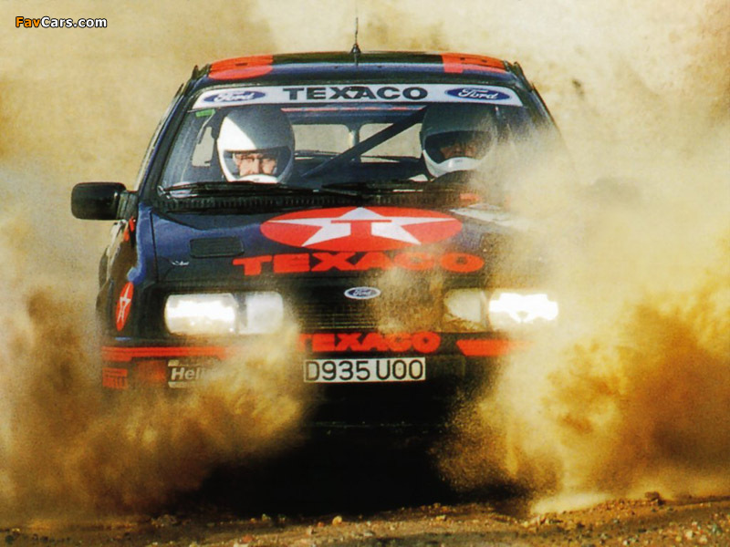 Photos of Ford Sierra RS Cosworth Group A Rally Car 1987–89 (800 x 600)