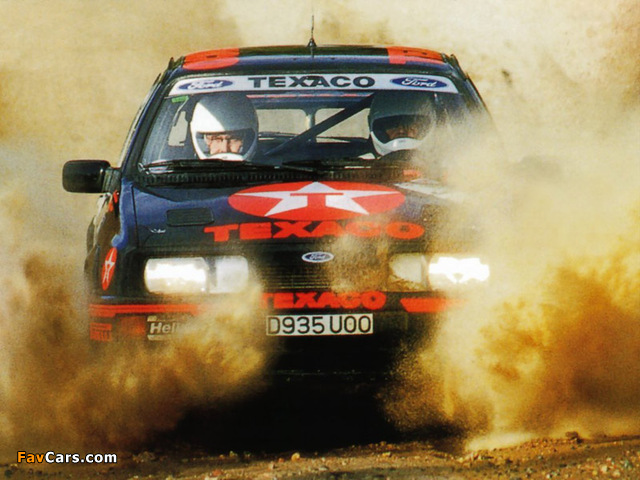 Photos of Ford Sierra RS Cosworth Group A Rally Car 1987–89 (640 x 480)