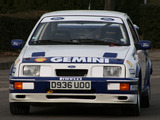 Photos of Ford Sierra RS Cosworth Group A Rally Car 1987–89