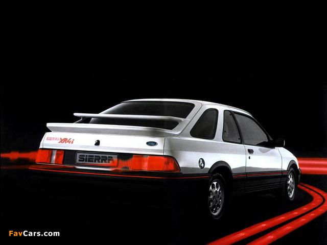 Ford Sierra XR4i 3-door Hatchback 1983–85 wallpapers (640 x 480)