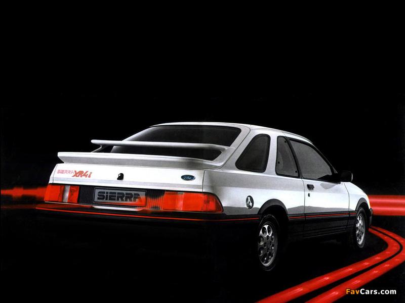 Ford Sierra XR4i 3-door Hatchback 1983–85 wallpapers (800 x 600)