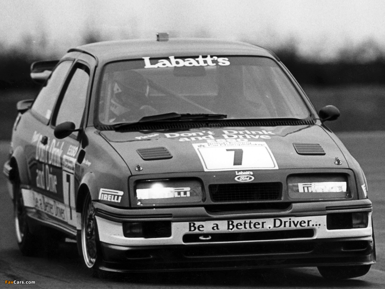 Ford Sierra RS500 Cosworth BTCC 1988–92 wallpapers (1280 x 960)