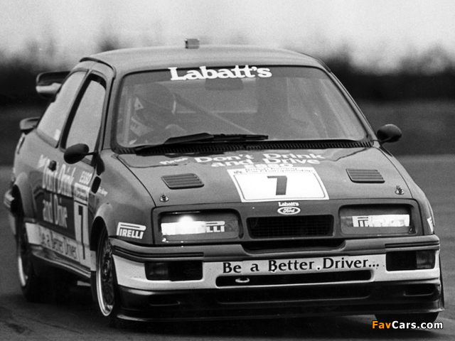Ford Sierra RS500 Cosworth BTCC 1988–92 wallpapers (640 x 480)