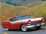 Ford Fairlane 500 Skyliner Retractable Hardtop 1957 wallpapers