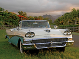 Ford Fairlane 500 Skyliner 1958 wallpapers