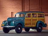 Photos of Ford Standard Station Wagon by Marmon-Herrington 1940