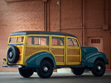 Pictures of Ford Standard Station Wagon by Marmon-Herrington 1940