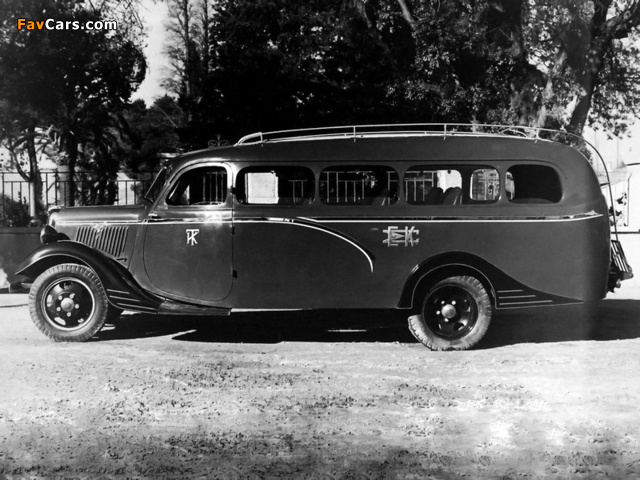 Tangalakis Ford Inter-City Bus 1935 wallpapers (640 x 480)