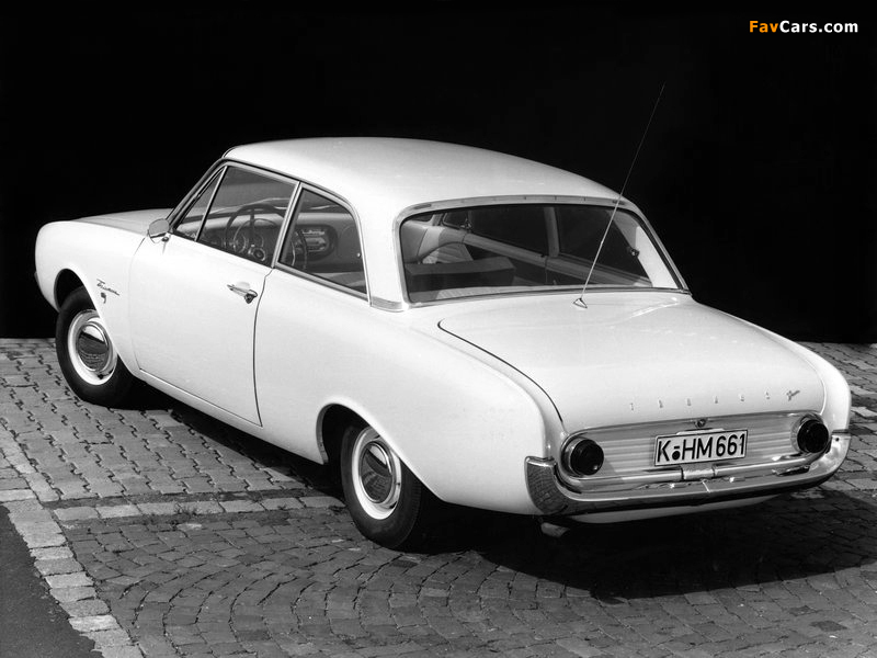 Images Of Ford Taunus 17m 2 Door P3 1960 64 800x600