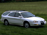 Ford Taurus Wagon JP-spec (1FASP57) 1996–99 images