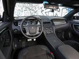 Stealth Ford Police Interceptor Sedan Concept 2010 wallpapers
