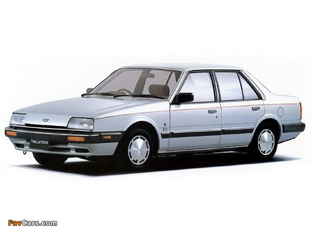 Images of Ford Telstar Sedan (AS) 1985–87 (640 x 480)