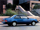 Ford Tempo Coupe 1984–92 wallpapers