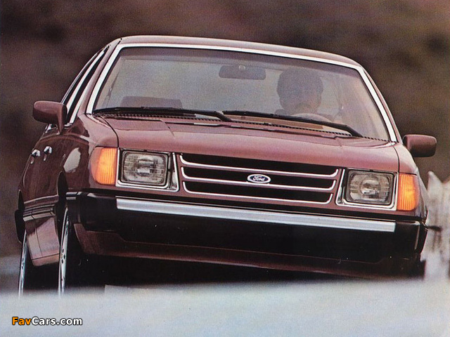Photos of Ford Tempo 1984–87 (640 x 480)